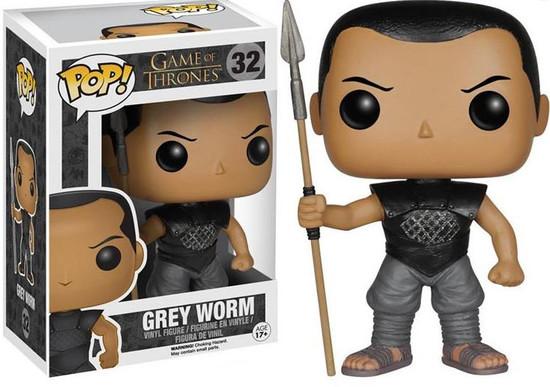 Funko Game of Thrones POP! TV Grey Worm Vinyl Figure #32