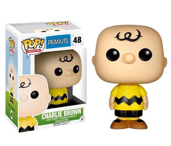 Funko Peanuts POP! TV Charlie Brown Vinyl Figure #48