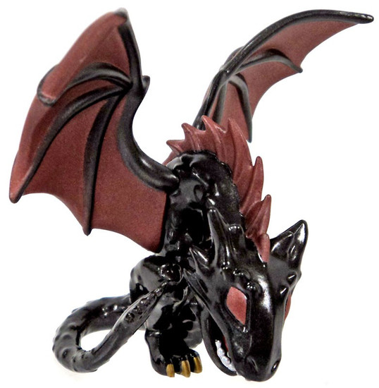 Funko Game of Thrones Series 2 Mystery Minis Drogon 1/72 Ultra Rare Mystery Minifigure [Metallic Version Loose]