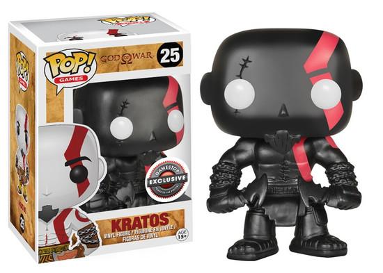 Funko God of War POP! Games Kratos Exclusive Vinyl Figure #25 [Black]