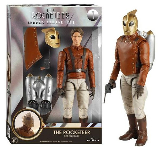 Funko Legacy Collection The Rocketeer Action Figure #1
