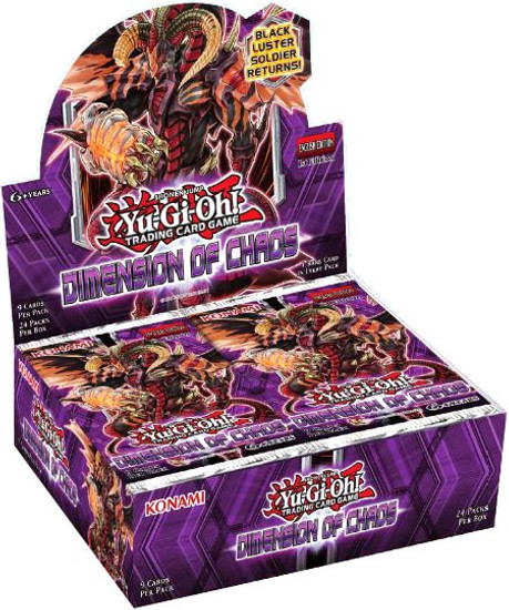 YuGiOh Trading Card Game Dimension of Chaos Booster Box [24 Packs]
