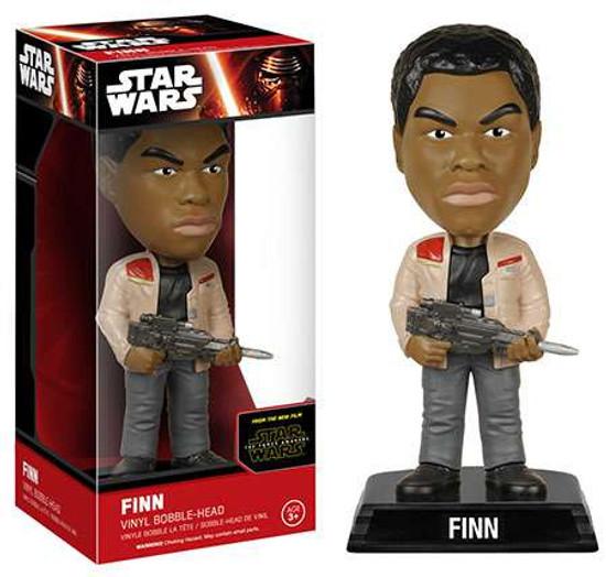 Funko Star Wars The Force Awakens Wacky Wobbler Finn Bobble Head [EP7]