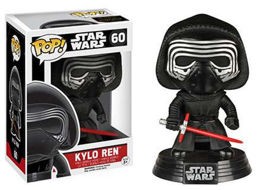Funko The Force Awakens POP! Star Wars Kylo Ren Vinyl Bobble Head #60 [EP7]