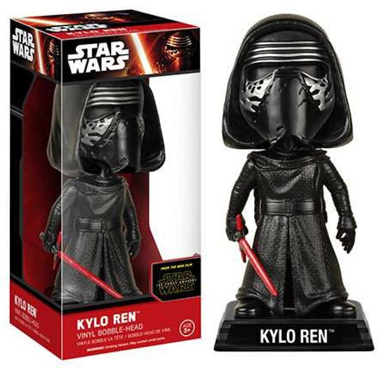 Funko Star Wars The Force Awakens Wacky Wobbler Kylo Ren Bobble Head [EP7]