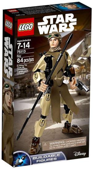 LEGO Star Wars The Force Awakens Rey Set #75113