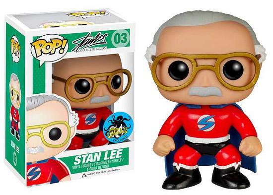 Funko Stan Lee Collectibles POP! Stan Lee Exclusive Vinyl Figure #03 [Red Costume]