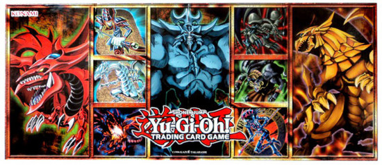 YuGiOh Trading Card Game Legendary Collection 1 Game Board