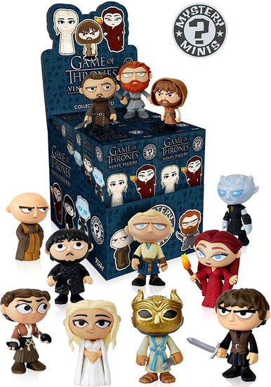 Funko Mystery Minis Game of Thrones Series 3 Mystery Box [12 Packs]