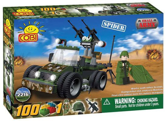 COBI Blocks Small Army Spider Set #2216