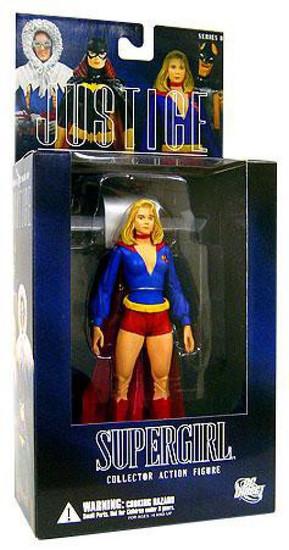 DC Alex Ross Justice League Series 8 Supergirl Action Figure [Pre-Crisis]