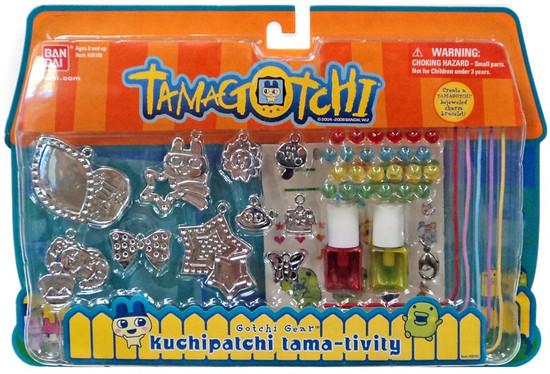 Tamagotchi Gotchi Gear Charm Bracelet Kuchipatchi Tama-Tivity Activity Set [Red & Yellow Paint]
