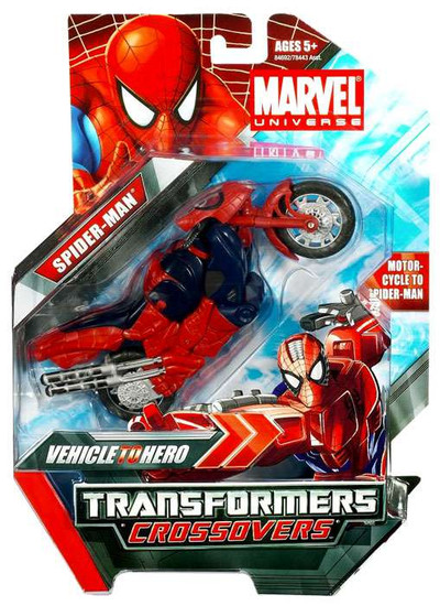 Transformers Marvel Crossovers Spider-Man Action Figure