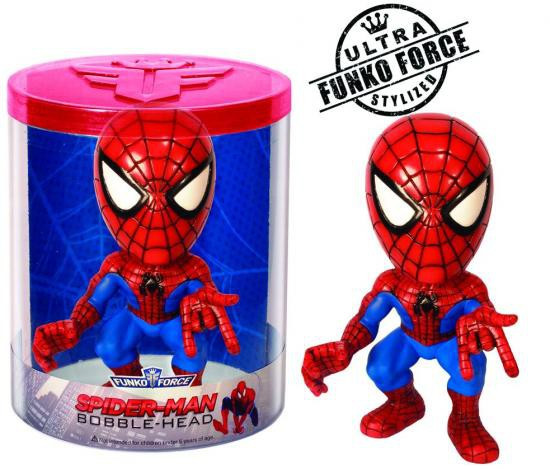 Marvel Funko Force Spider-Man Bobble Head