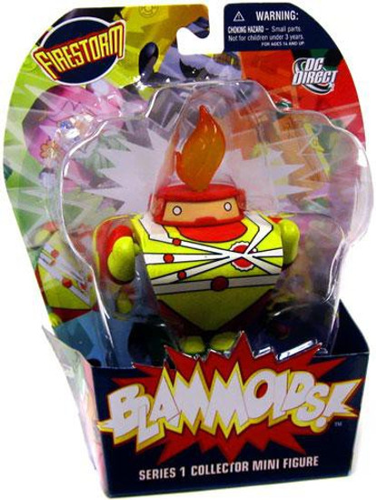 DC Blammoids Series 1 Firestorm Mini Figure