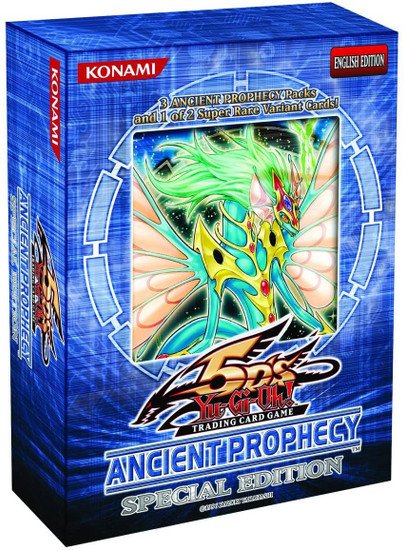 YuGiOh Trading Card Game Ancient Prophecy Special Edition [3 Booster Packs & 1 RANDOM Promo Card]