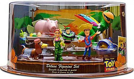 Disney Toy Story Hawaiian Vacation Exclusive 9-Piece Deluxe PVC Figure Playset