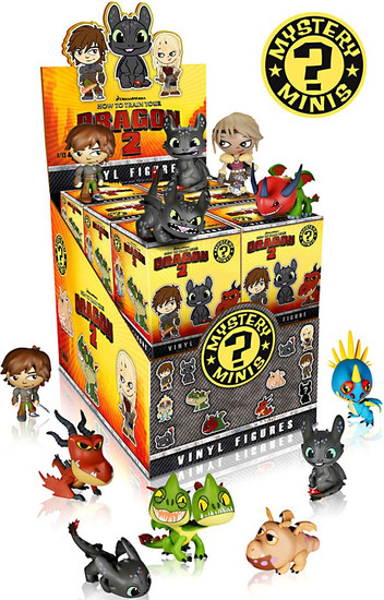 Funko Mystery Minis How to Train Your Dragon 2 Mystery Box [12 Packs]