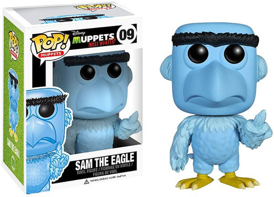 Funko The Muppets Muppets Most Wanted POP! TV Sam the Eagle Vinyl Figure #09