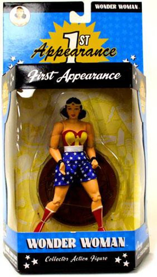 DC First Appearance Series 1 Wonder Woman Action Figure