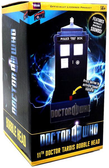 Doctor Who 11th Doctor Tardis Bobble Head [11th Doctor]