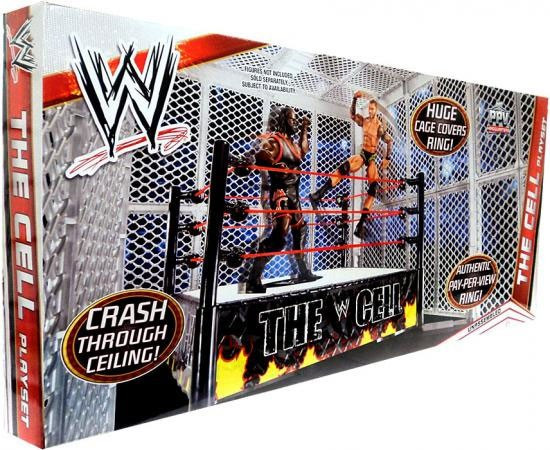 WWE Wrestling The Cell Exclusive Superstar Ring [2012]