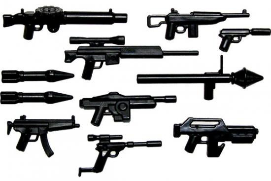 BrickArms Instant Arsenal Exclusive 2.5-Inch Weapons Pack