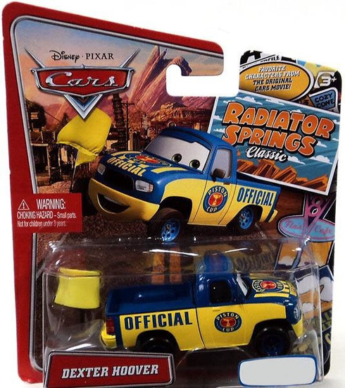Disney / Pixar Cars Radiator Springs Classic Dexter Hoover Exclusive Diecast Car
