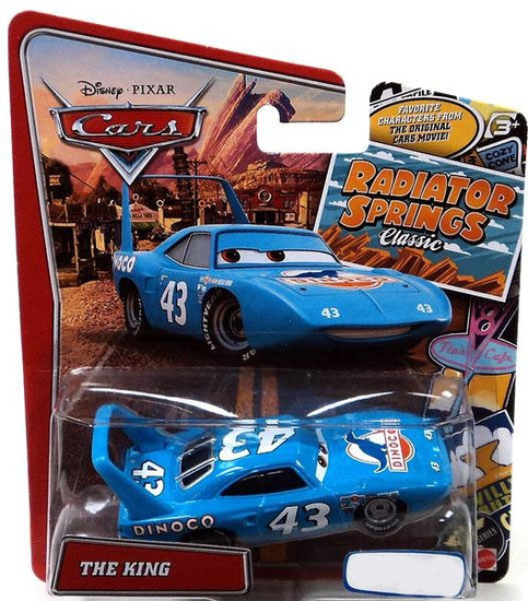 Disney / Pixar Cars Radiator Springs Classic The King Exclusive Diecast Car