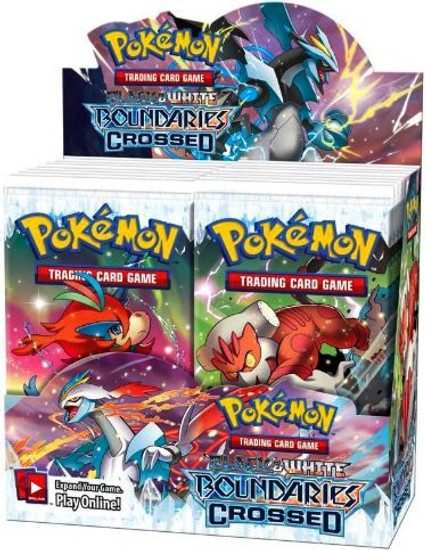 Pokemon Trading Card Game Black & White Boundaries Crossed Booster Box [36 Packs]