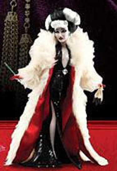 Disney 101 Dalmatians Designer Collection Cruella de Vil Exclusive 11.5-Inch Doll