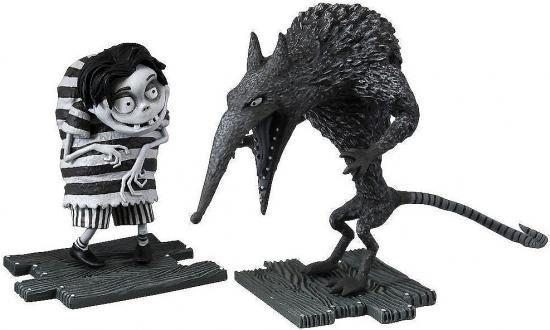 Frankenweenie Edgar & Wererat Mini Figure 2-Pack