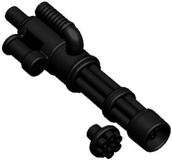 BrickArms Minigun 2.5-Inch [Black with No Ammo]