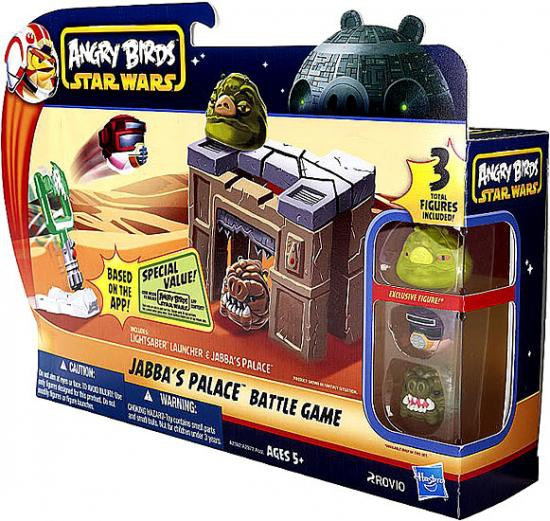 Star Wars Angry Birds Jabba's Palace Battle Game