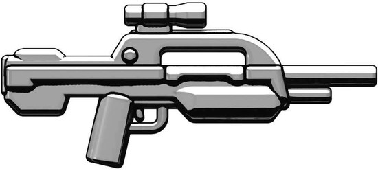 BrickArms XBR3 Experimental Battle Rifle #3 2.5-Inch #3 [Titanium]