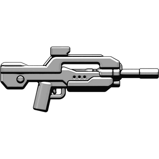 BrickArms XBR4 Experimental Battle Rifle #4 2.5-Inch #4 [Titanium]