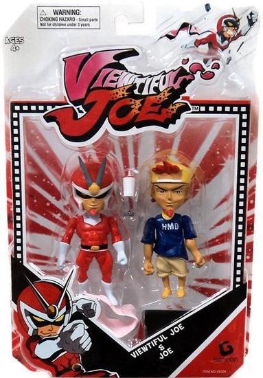 Viewtiful Joe & Joe Action Figure 2-Pack