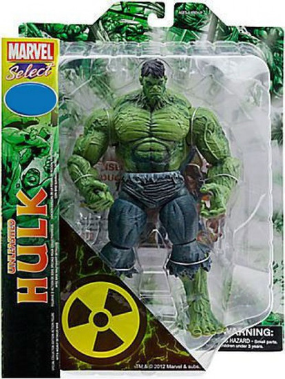 Marvel Select Unleashed Hulk Exclusive Action Figure