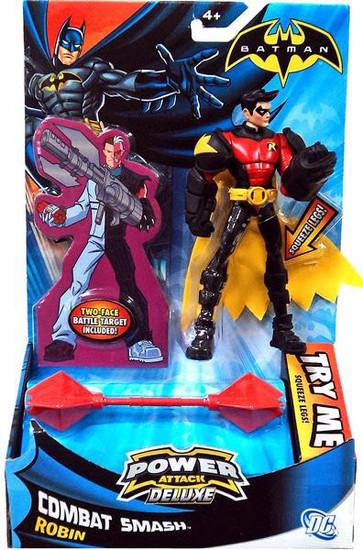 Batman Power Attack Deluxe Robin Action Figure [Combat Smash]