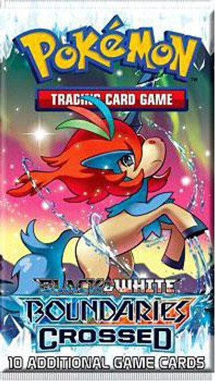 Pokemon Trading Card Game Black & White Boundaries Crossed Booster Pack [10 Cards]