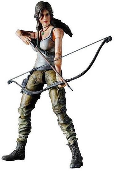 Tomb Raider Play Arts Kai Lara Croft Action Figure [2013 Version]