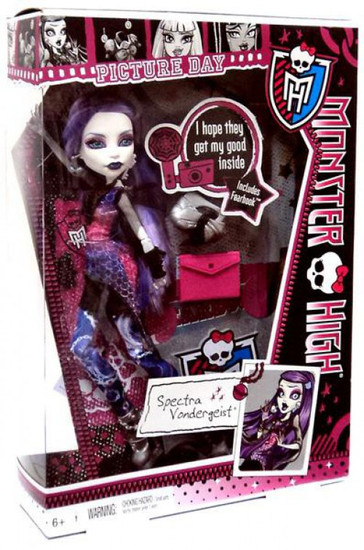 Monster High Picture Day Spectra Vondergeist 10.5-Inch Doll