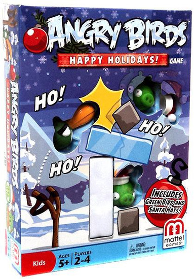 Angry Birds Happy Holidays! Game
