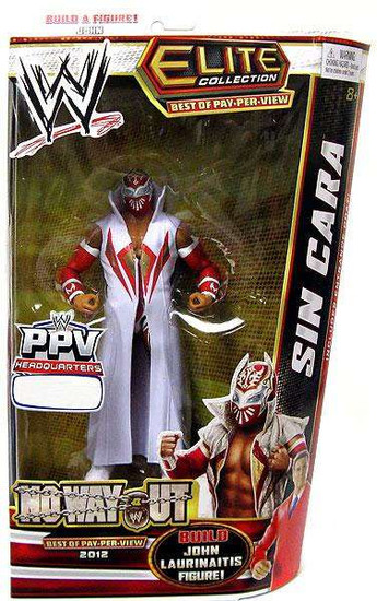 WWE Wrestling Elite Collection Best of Pay Per View Sin Cara Exclusive Action Figure