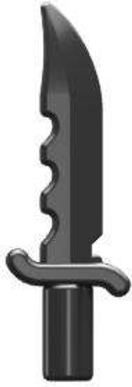 BrickArms Offensive Combat Knife 2.5-Inch [Black]