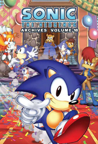 Sonic The Hedgehog Archives Volume 18 Trade Paperback