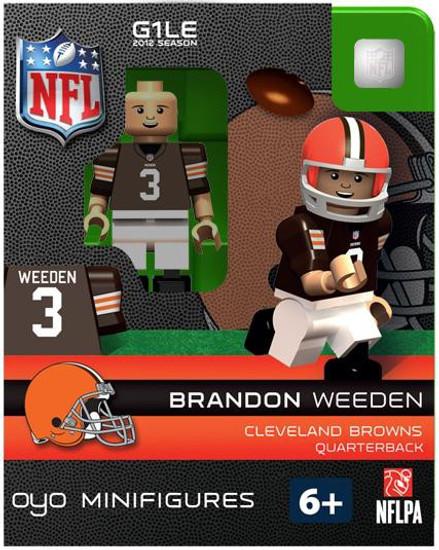 Cleveland Browns NFL Generation 1 2012 Season Brandon Weeden Minifigure