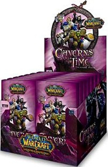 World of Warcraft Trading Card Game Caverns of TIme Treasure Pack Box