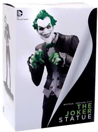 Batman Arkham City The Joker 10-Inch Statue
