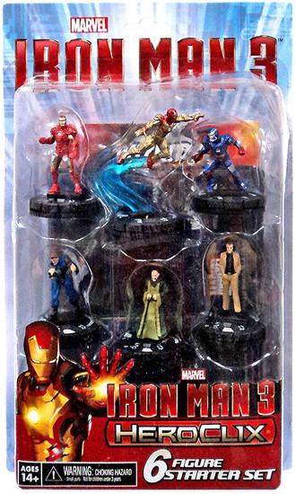 Marvel HeroClix Iron Man 3 Starter Set